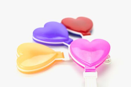 pivotal: Blurred plays a pivotal moment in the day of love. Valentines Day. Stock Photo