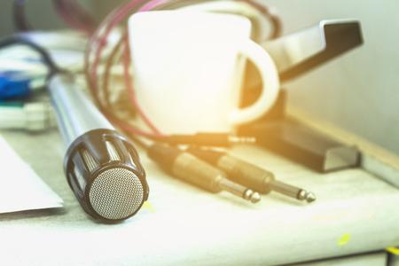 analogue: Close Up Analogue Microphone