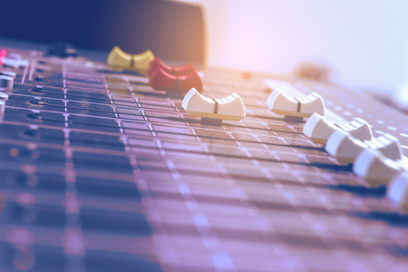 Volume Control audio mixer.