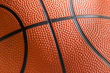 Rough surface of the basketball