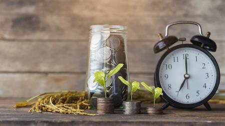 Concept of saving money.Money Thailand.