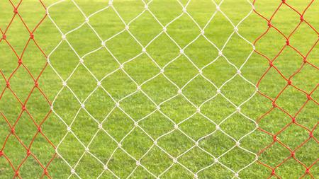 Ropes football goal nets.