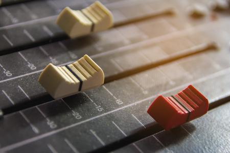 Slide the volume control.