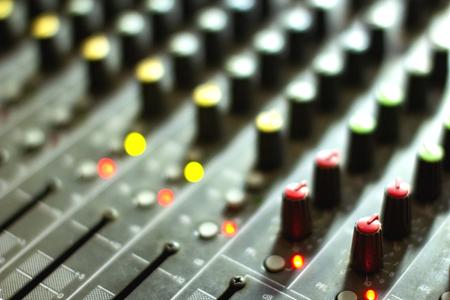 Button Volume audio mixer.