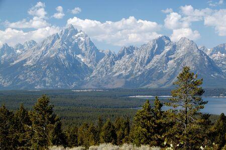 Grand View of Grand Teton National Park photo