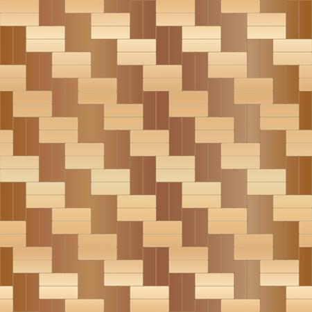 Wood floor parquet seamless pattern. Vector illustration Stock Illustratie