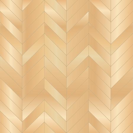 Wood floor parquet seamless pattern. Vector illustration Vettoriali