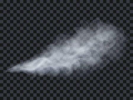 Vape steam smoke exhale puff vector illustration