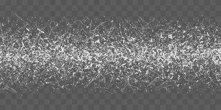 Frozen road texture. Frost glass ice seamless pattern. Vector stock illustration Illustration