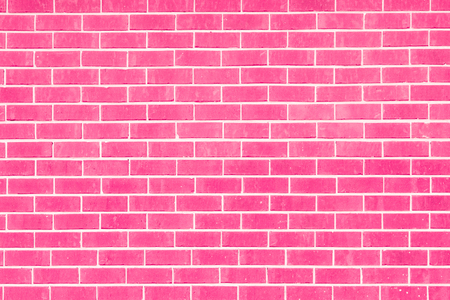 Pink brick wall for use as a background.