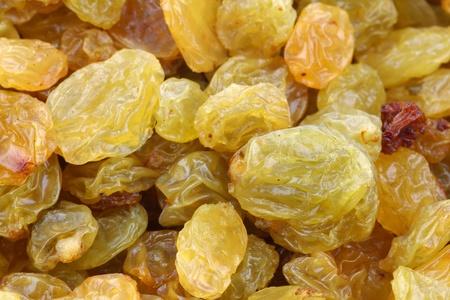 background of dried white raisins
