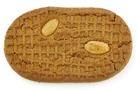 speculaas  traditional pastry from Holland  on a white background Stock Photo - 15106781