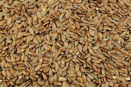 Flax seed  linseed  background Stock Photo - 15109673