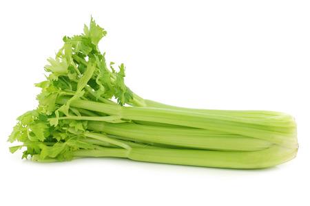 fresh celery on a white background 版權商用圖片 - 39894399