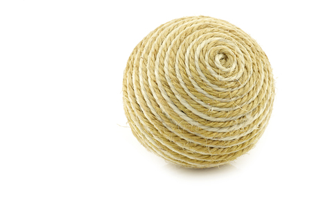 playthings: dog toy ball on a white background