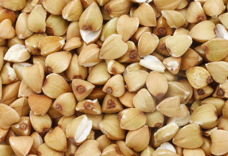 background of biologically grown organic buckwheat