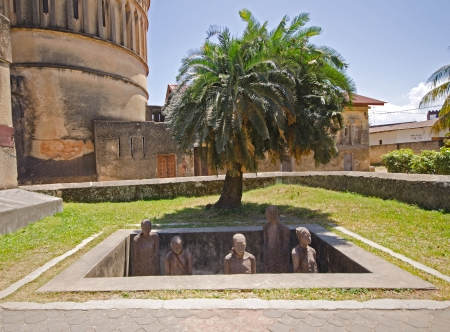 Slave Market Memorial in Stone Town on Zanzibar Island - Tanzania photo
