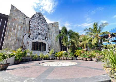 Bali bombing memorial, Kuta, Indonesia