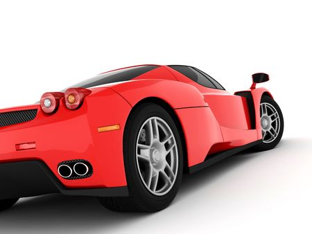 Red Super Car Stock Photo - 6014284