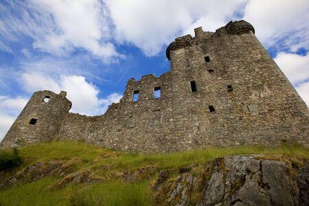 awe: Kilchurn Castle Ruins on Loch Awe