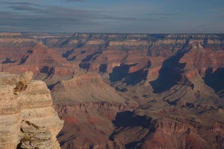 A scenic view of the Grand Canyon, Arizona Banco de Imagens
