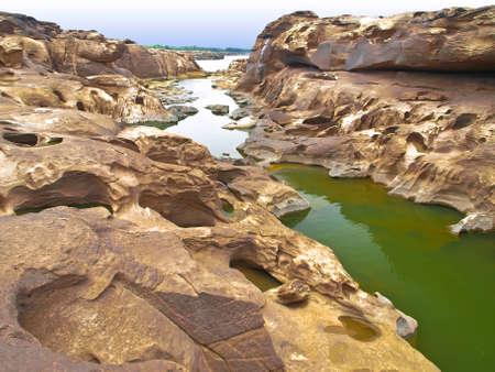 Sam Phan Bok (Grand Canyon in Thailand) photo
