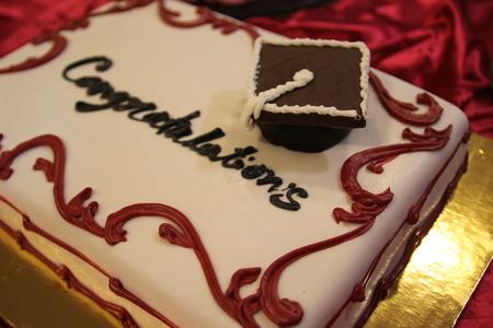 suger: graduation cake
