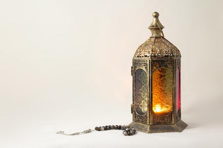 Tradition Lanterne avec Rosaire de luxe