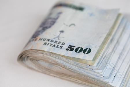 arabic currency: Saudi Riyal is the Currency of Saudi Arabia Country Stock Photo