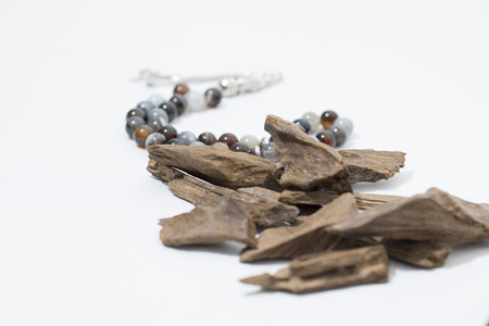 agar: Agar wood, incense Chips with rosary, its name in Arabic Oud Wood used to incense Cloths, furniture and places for occasions