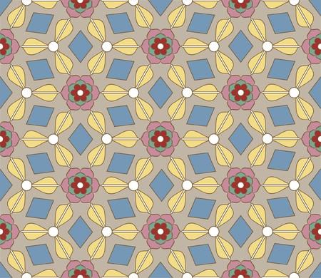 byzantine: Byzantine style seamless background