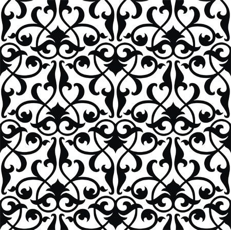 Seamless arabesque background Vector