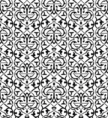 Seamless arabesque background Vector