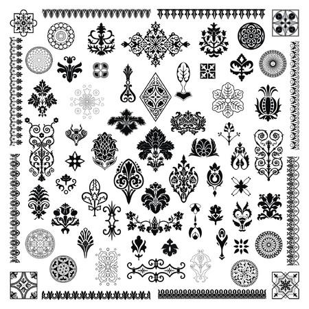 baroque: Elementos de dise�o de estilo diferente