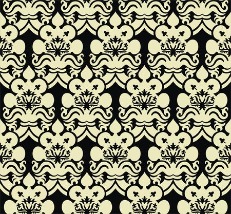 Gothic style seamless background Stock Vector - 6914453