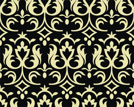 Gothic style seamless background Stock Vector - 6914457