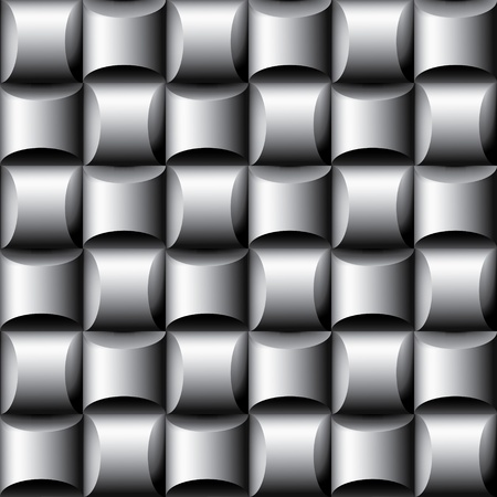 Abstract seamless dimensional background Vector