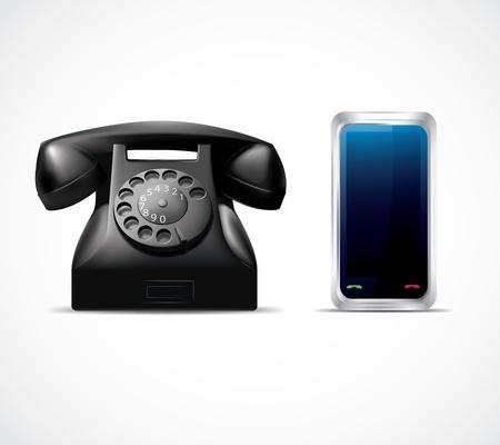 Postęp Phone Ilustracja