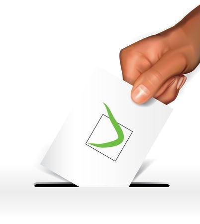 Voting concept Stock Vector - 11920181