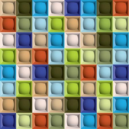Editable modern vector seamless background. Illustration