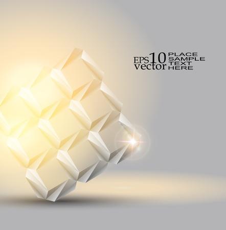 Tło obiekt Origami