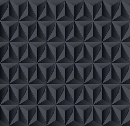 Dark geometric shadow background Vector