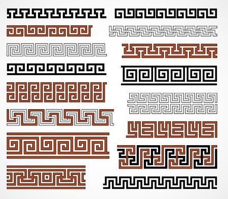 antigua grecia: Las fronteras griegas de estilo