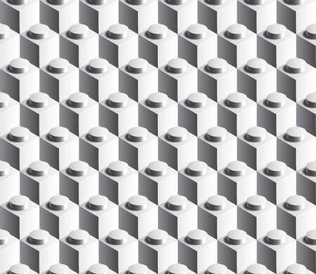 plastic texture: Construction cube seamless background