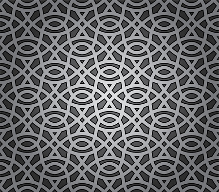 Repeating elements seamless background Vector