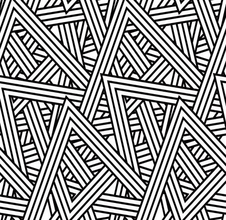 Jednolite wzór trójkąta Ilustracja