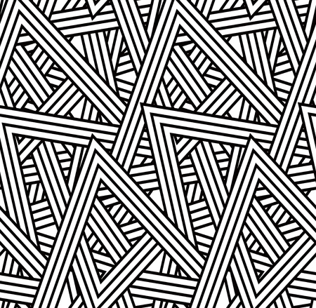 triangle shape: Seamless triangle pattern