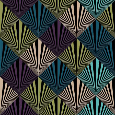 Seamless pop art background