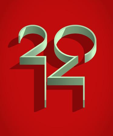 Nowy 2014 rok Znak