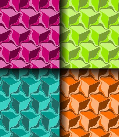 Seamless bright popart background